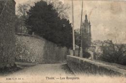 BELGIQUE - HAINAUT - THUIN - Les Remparts. - Thuin