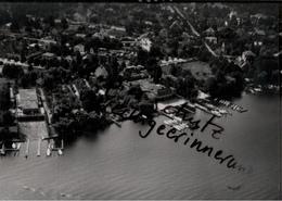 ! Berlin Karolinenhof, Schmöckwitz, Seltenes Luftbild  1937, Nr. 30583, PLZ: 12527, Format 18 X 13 Cm - Schmoeckwitz