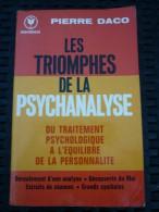 Pierre Daco: Les Triomphes De La Psychanalyse/ Marabout, 1984 - Psychology/Philosophy