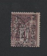 Faux Préoblitéré 4 Lignes N° 2 4 C Sage - 1893-1947