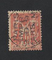 Faux Préoblitéré 4 Lignes N° 9 40 C Sage - 1893-1947