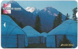 Kyrgyzstan - Kyrgyz Telecom (Alcatel) - Nomad Tents, 10Units, Used - Kirgisistan