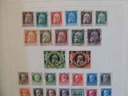 Baviere - Bayern  - Collection Sur Page D'album - Cote : 110 Euros   // 4 Scans - Collections (sans Albums)