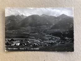 VAL DI FIEMME VARENA VERSO CAVALESE  1954 - Trento
