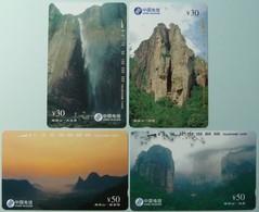 CHINA - Tamura - CNT - China Telecom - CNT 54 - Set Of 4 - Mint - Cina