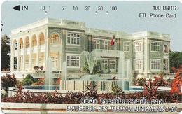 Laos - LTC (Tamura) - Ho Khan, 100Units, Used - Laos
