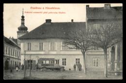 Neveklov - Postovni Automobil Pred Postovnim Uradem - Tchéquie