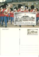 Denmark  1994 Castle Amalienborg, King Christian IX's Palace, With Imprinted Stamp Unused Card - Danimarca