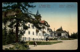 Die Hohe Tatra - Csorba See - Hotel, Szalloda - Slovaquie