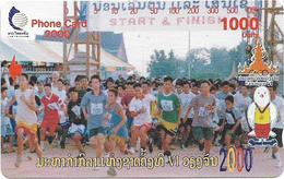 Laos - LTC (Tamura) - Marathon Run, 1.000Units, Mint RRR - Laos