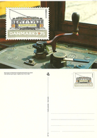 Denmark  1994 Tramway In København, Engelhardt Wagon, With Imprinted Stamp Unused Card - Danimarca