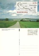 Denmark  1995 Isle Avernakø, With Imprinted Stamp Unused Card - Danimarca