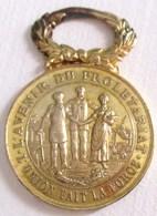 MEDAILLE L AVENIR DU PROLETARIAT L UNION FAIT LA FORCE FONDEE LE 28 MAI 1893 SOCIETE CIVILE DE RETRAITE & ASSISTANCE - Médailles & Décorations