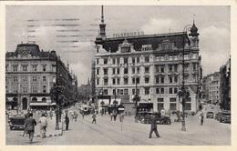 BRÜNN BRNO Hauptplatz Strassenbahn Alte Autos, Fotokarte Gel.1940? - Tschechische Republik