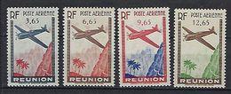 """Reunion Aerien YT 2 à 5 (PA) """" Avions En Vol """" 1938 Neuf* - Luchtpost"""