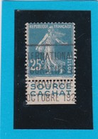 N° 140  + PUB SOURCE CACHAT   - REF ACDIV - 1906-38 Semeuse Camée