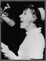 Photo Presse 1963 - SINGER - CHANTEUR ULLA BELLA FRIDH SAINT VINCENT 3a RASSEGNA INTERNAZIONALE CANZONI PER L'EUROPA - Persone Identificate