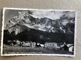 DOLOMITI SAN MARTINO DI CASTROZZA E CIMONE 1950 - Trento