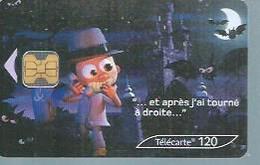 TELECARTE 120 UNITES -  200000 CABINES  - 03 / 2003 - OB1 - Frankrijk