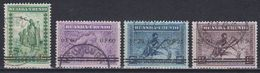"Ruanda-Urundi 1941 ""Meulemans"" Ovptd 4v (44012) Ca Usumbura - 1924-44: Afgestempeld"