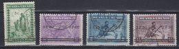 "Ruanda-Urundi 1941 ""Meulemans"" Ovptd 4v (44012A) Ca Usumbura - 1924-44: Afgestempeld"