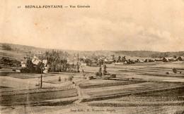 89. CPA. Vieux Béon Ou BEON LA FONTAINE.  Vue Générale. 1905. - Other Municipalities