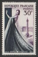 France 1953 Neuf Sans Charnière Haute Couture Mannequin YT 941 - Frankreich