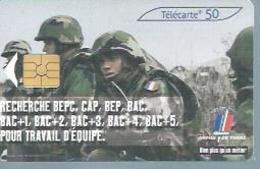 TELECARTE 50 UNITES -  ARMEE DE TERRE  - 04 / 2003 - GEM - Frankrijk