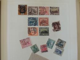 Saar - Collection Sur Page D'album    //  2 Scans - Collections (sans Albums)