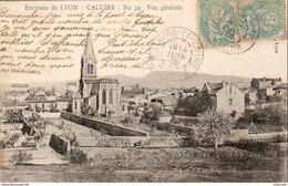 D69  CALUIRE N°59 Vue Générale - Caluire Et Cuire