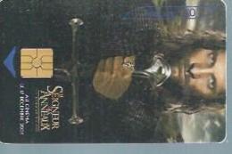 TELECARTE 50 UNITES -  LE SEIGNEUR DES ANNEAUX  - 08 / 2003 - GEM - Frankrijk