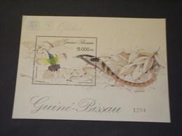 GUINEA BISSAU - BF 1994 UCCELLO/SERPENTE - NUOVO(++) - Guinea-Bissau