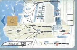 TELECARTE 120 UNITES -  L'HIVER 4/4  - 12 / 2003 - GEM - Frankrijk
