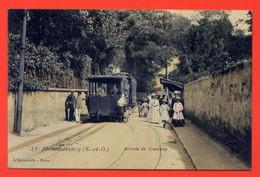 216-MONTMORENCY. Arrivée Du Tramway - Montmorency