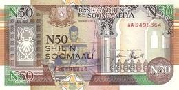 SOMALIA 50 N SHILLINGS 1991 P-R2 UNC  [SO314a] - Somalia
