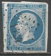 FRANCE - Oblitération Petits Chiffres LP 1424 GRACEY (Cher) - Marcophilie (Timbres Détachés)