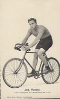 JOS RASQUI - 3 FOIS CHAMPION DE LUXEMBOURG SUR ROUTE   PHOTO BERN KUTTER,LUXEMBOURG - Cyclisme