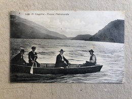 LAGO DI CAVEDINE PRESSO PIETRAMURATA  1920 - Trento