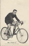 NIC FRANTZ II  -  VAINQUEUR DU CRITÉRIUM DES JEUNES   PHOTO BERN KUTTER,LUXEMBOURG - Cyclisme