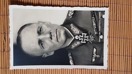Fotokarte Ritterkreuzträger General Der Panzertruppen Rommel, Ungelaufen - Weltkrieg 1939-45