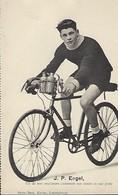 J.P. ENGEL  -  UN DE NOS MEILLEURS COUREURS SUR ROUTE ET SUR PISTE  PHOTO BERN KUTTER,LUXEMBOURG - Cyclisme
