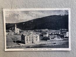 ANDALO PROV. TRENTO  1933 - Trento
