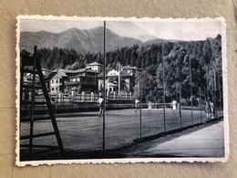 CAVALESE TRENTINO  CAMPO DI TENNIS  1957 - Trento