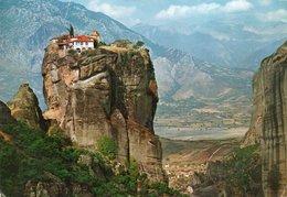 GRECIA-ROCKS OF AVIA TRIAS MONASTERY- VIAGGIATA 1968    FG - Grecia
