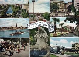 Grande CPSM Fonoscope Carte Postale Qui Chante - Systeme Disque 45 Tours - Düsseldorf - Die Tönende Ansichtskarte Biem - Germany