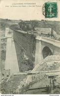 WW 2 Cpa 63 Viaduc Des Fades En Travaux Et Chemin De Fer Du Puy De Dôme Remblai De Ceyssat - Autres Communes