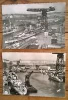 Lot De 2 Cartes Postales / BRETZ - Brest