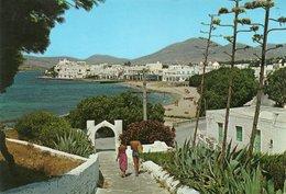 GRECIA-PAROS-THE LITTORAL- VIAGGIATA 1968    FG - Grecia