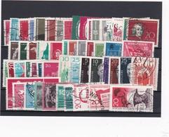 DDR, Ohne Block Kpl. Jahrgang 1958, Gest. (K 4302) - DDR