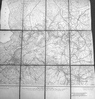 1910 Malmedy En Prusse + Ovifat Xhoffraix Walk Faymonville Geromont Robertville Waimes Sourbrodt Champagne - Cartes Géographiques